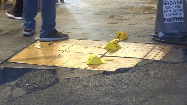 Kağıthane'de silahlı kavga: 3 yaralı