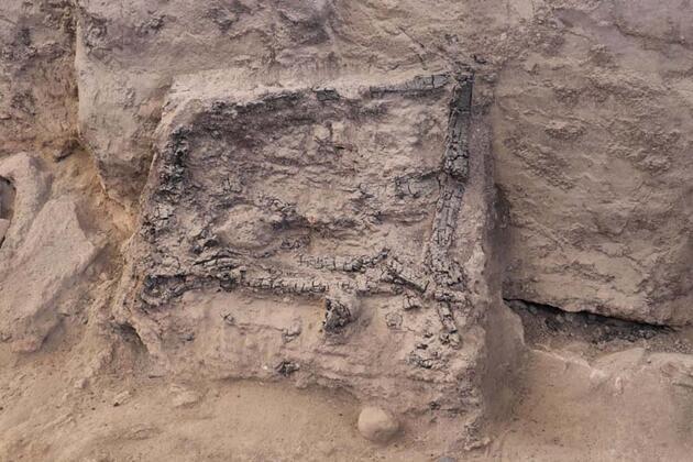 Son dakika... Denizli'de 4 bin yıllık tekstil atölyesi ortaya çıkarıldı