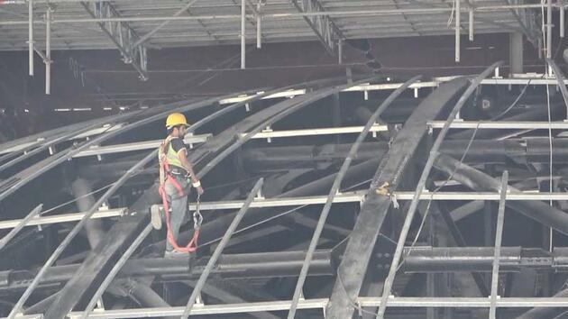Son dakika... Atatürk Kültür Merkezi inşaatında sona yaklaşılıyor