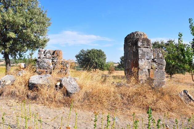 Sidas Antik Kenti, gün yüzüne çıkmayı bekliyor