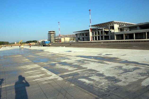 Son dakika... Yeni havaalanı inşaatının yüzde 82'si tamamlandı