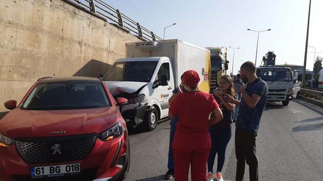 Son dakika... Karadeniz Sahil Yolu'nda zincirleme kaza: 5 yaralı