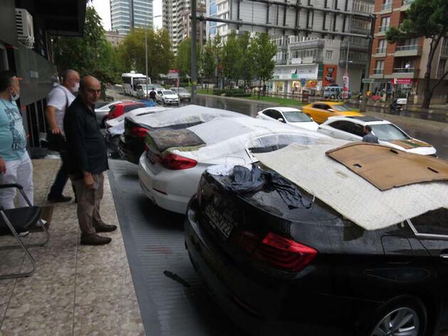 Son dakika... İstanbul'da vatandaşların dolu önlemi