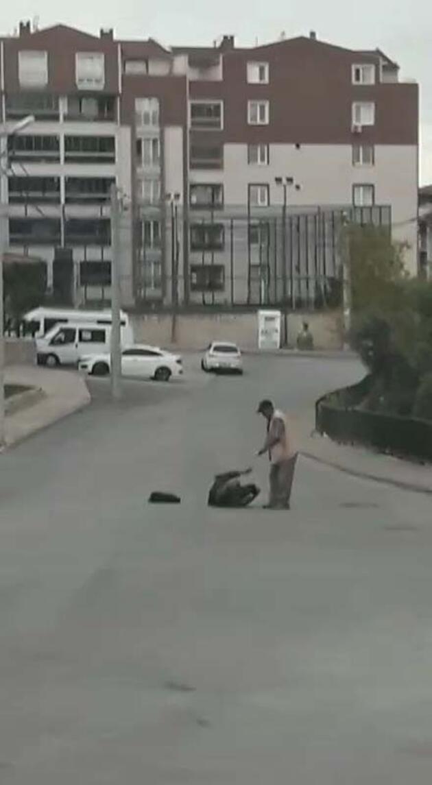 Son dakika... Eşini sokakta vurup ağır yaraladı, silah tutukluk yapınca kaçtı