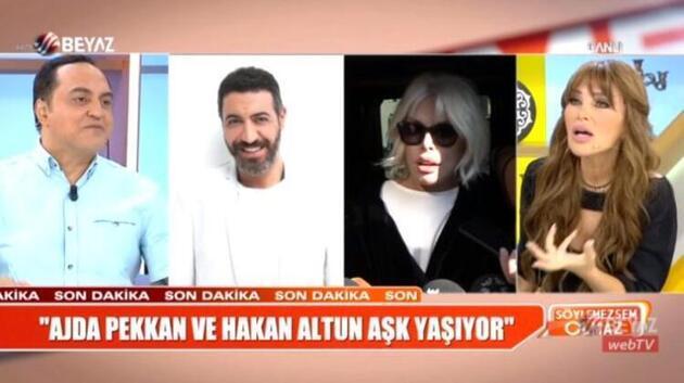 Hakan Altun ile aşk yaşadığı iddia edilen Ajda Pekkan konuştu: Ben bile ikna oldum aşk yaşadığımıza!