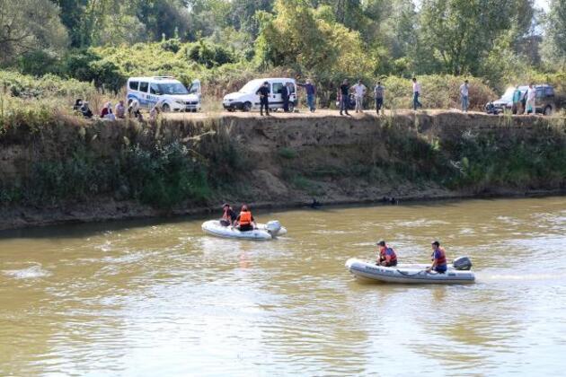 Son dakika.. Nehirde kaybolan Muhammet Talha'yı arama çalışmaları sürüyor