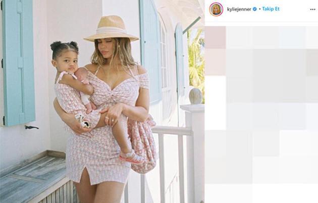 Kylie Jenner'dan kızına 93 bin TL'lik hediye!