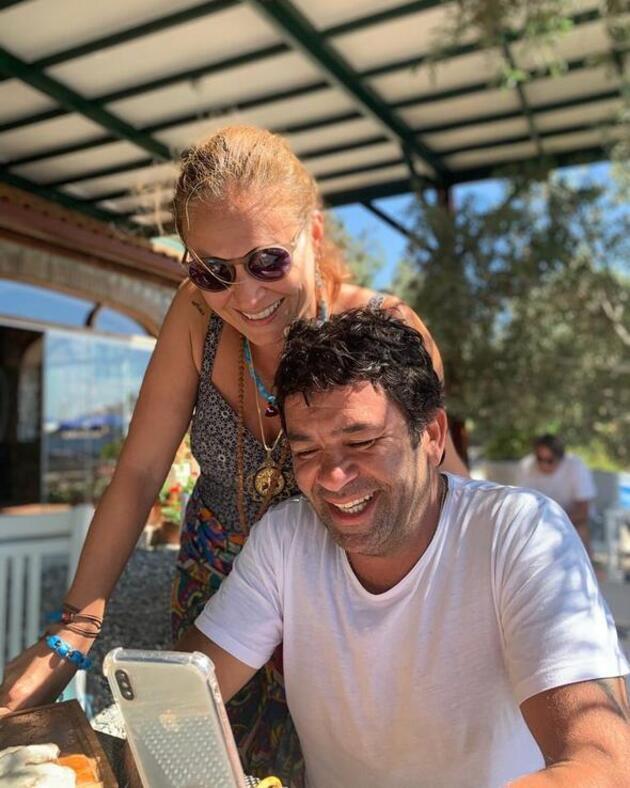 Ceyda Düvenci'den eşi Bülent Şakrak'a:Seninle her günüme sevdalıyım