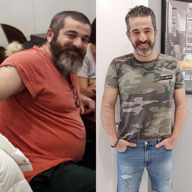 Oyuncu Kayra Şenocak 1 yılda 40 kilo verdi!
