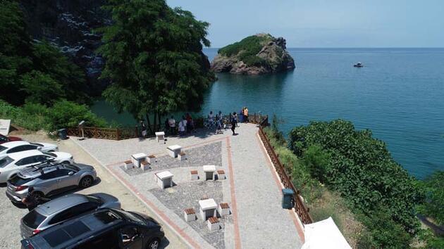 Ordu'nun yeni turizm cazibesi; Hoynat Adası