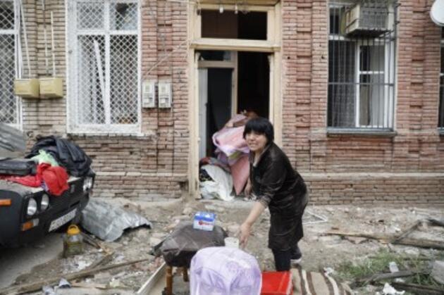 Ermenistan yine sivilleri hedef aldı! Sıcak noktadan çok özel kareler