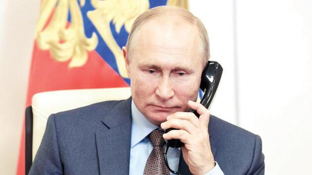 Son dakika... Putin telefonu suratına kapatmıştı, Kremlin'den açıklama geldi