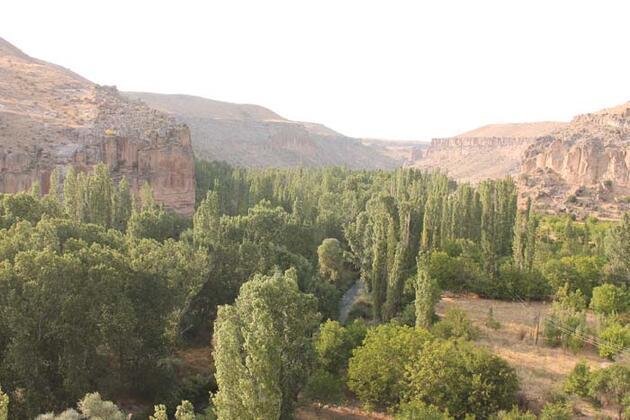 Kapadokya'nın incisi Ihlara Vadisi, pandemi sürecinde 62 bin ziyaretçi ağırladı