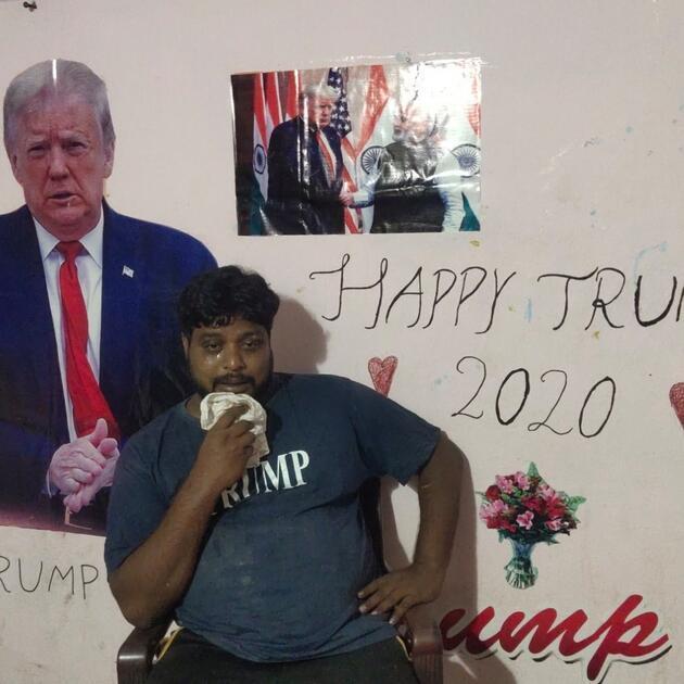 Trump'a tapan Hintli, kalp krizinden yaşamını yitirdi