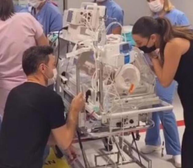 Sinan Özen'in kızı Neva 7. kez ameliyat oldu