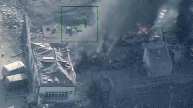 Son dakika... Azerbaycan, Ermenistan'ın askeri hedeflerini bir bir yok ediyor