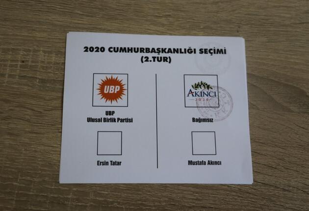 KKTC'de cumhurbaşkanlığı seçiminin ikinci turu için oy kullanma işlemi başladı