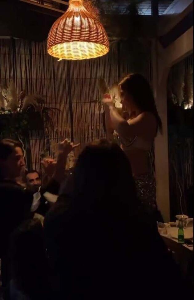 Son dakika... Şişli'de akıl almaz görüntü; dansözlü korona eğlencesi kamerada