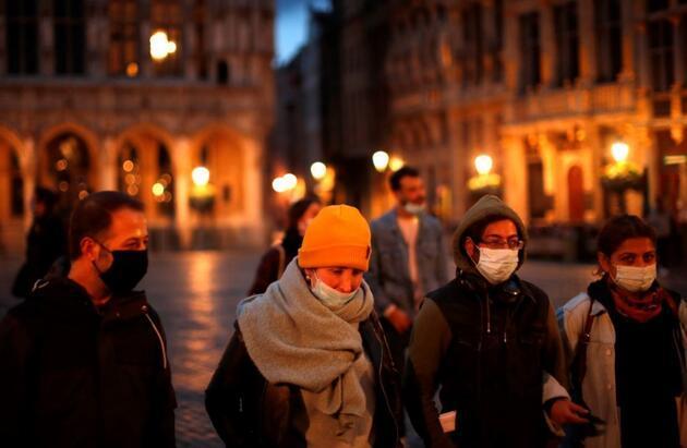 Korkutan rekor: Nüfusa oranla en fazla koronavirüs ölümü Belçika'da