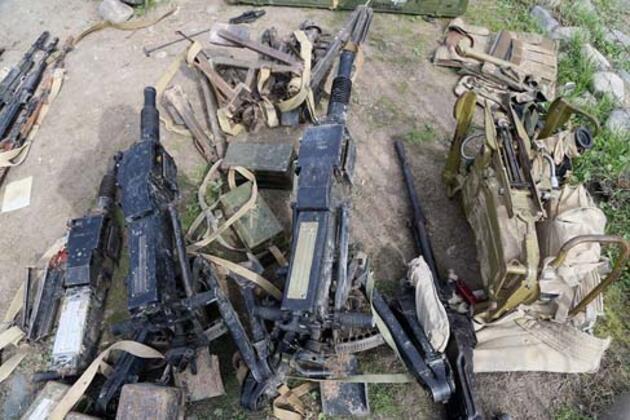 Azerbaycan Savunma Bakanlığı paylaştı! Bırakıp kaçtılar