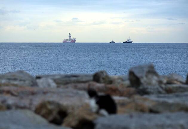 Kanuni sondaj gemisi İstanbul açıklarına ulaştı