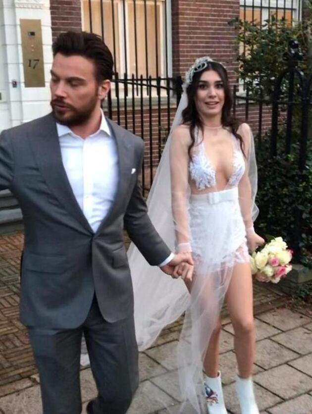 Sinan Akçıl hamile sevgilisi için Burcu Kıratlı'yı terk etti iddiası