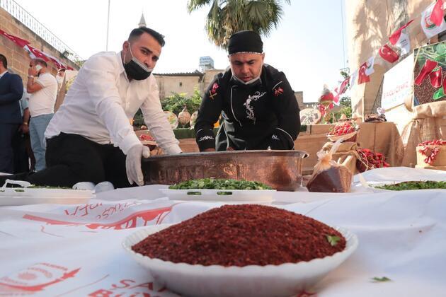 Şanlıurfa'da 'acı biber' yarışması