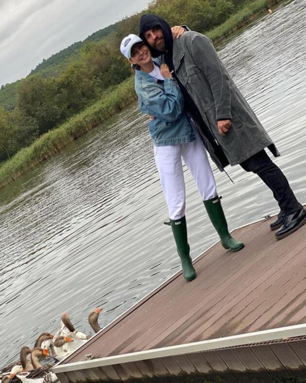 Yasemin Özilhan-İzzet Özilhan çiftinin sonbahar tatili