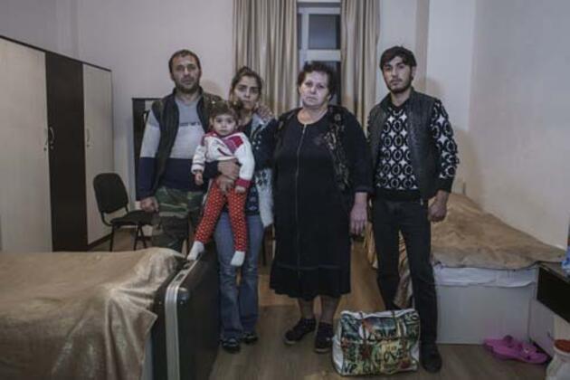 Ermenistan saldırısında evlerini kaybeden aileler konuştu