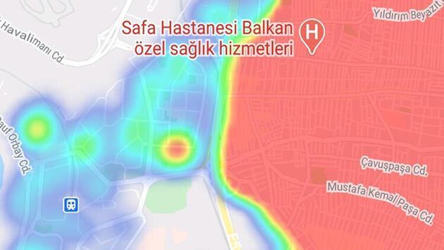İstanbul'da inanılmaz görüntü! Keskin fark böyle yansıdı