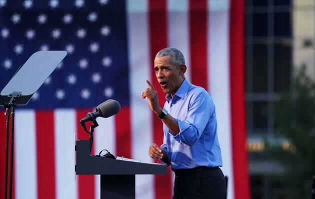 """Joe Biden için sahaya inen Obama'dan Trump'a tepki: """"Yazık bu adama"""""""