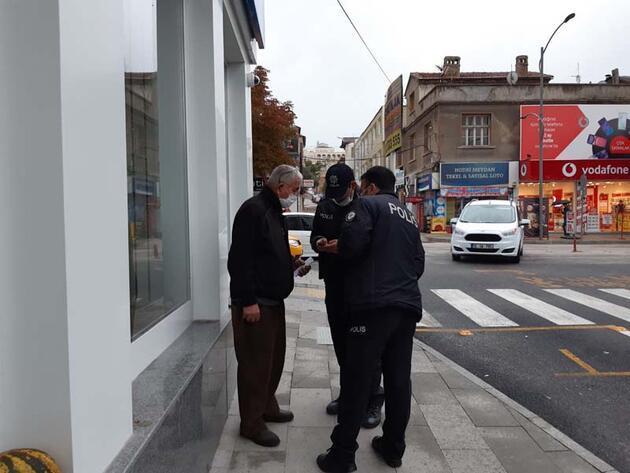 Polisler fark edip son anda durdurdu!