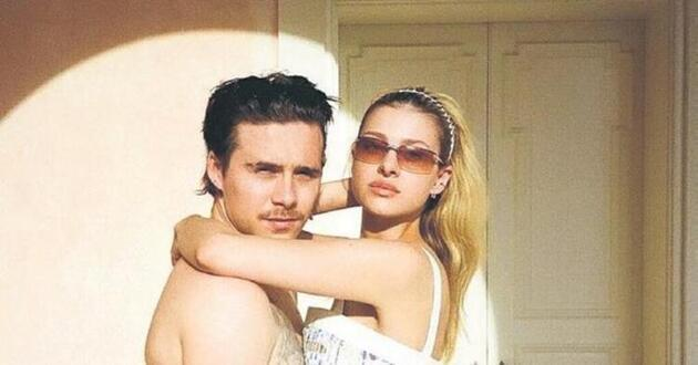 Brooklyn Beckham nişanlısına: Meleğim