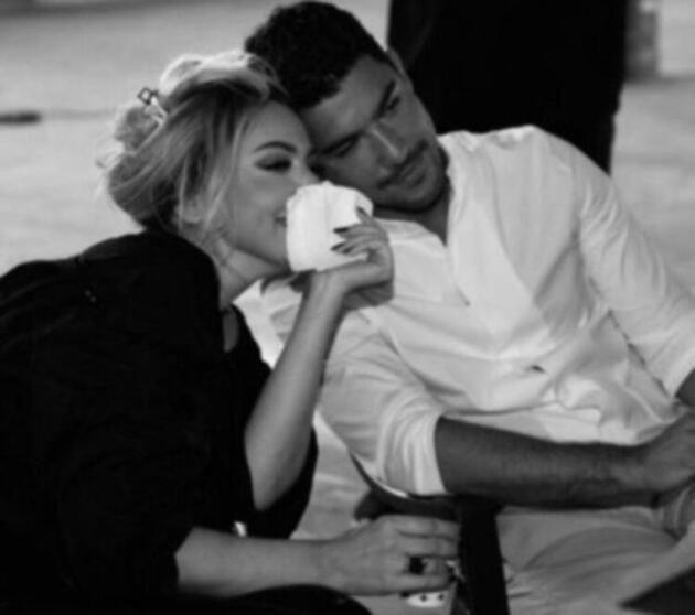 Kaan Yıldırım'dan Hadise'ye romantik kutlama