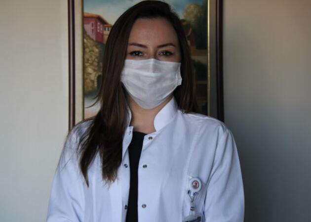 Uzun süre kullanılan maskedeki bakteriler laboratuvarda görüntülendi