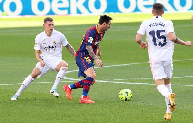 El Clasico'da Real Madrid Barcelona'yı 3-1 mağlup etti
