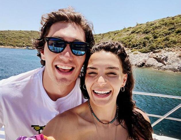 Ebru Şahin-Cedi Osman çiftinden aşk paylaşımı