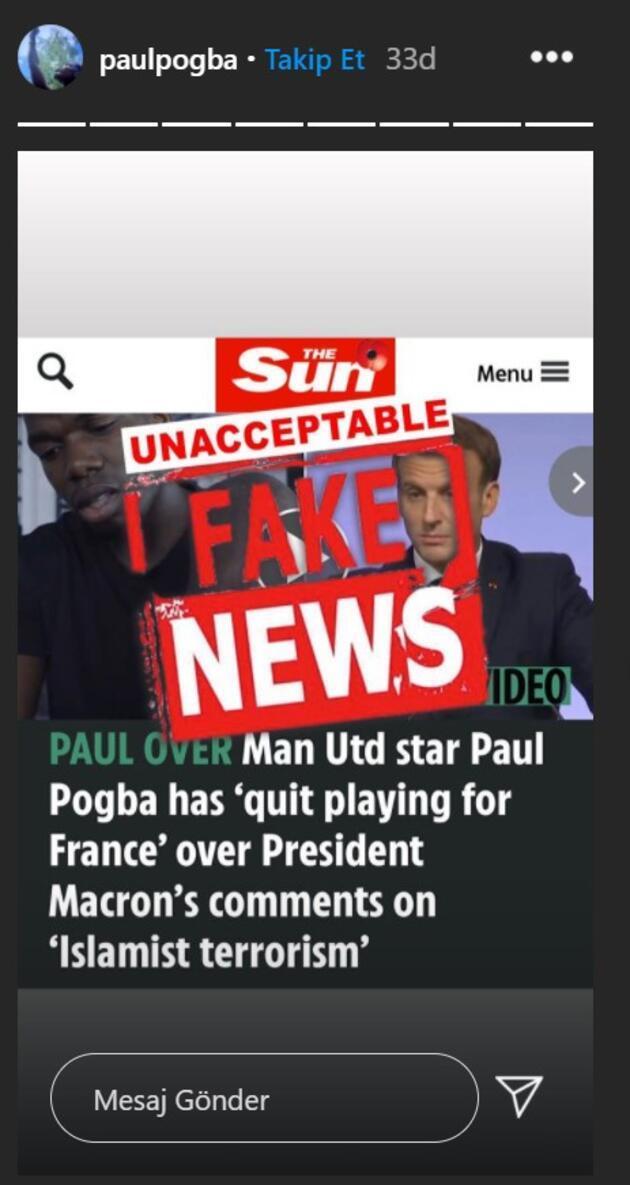 İngiliz basınından flaş iddia: Ünlü futbolcu Macron'un İslam karşıtı sözleri üzerine milli takımı bıraktı mı?