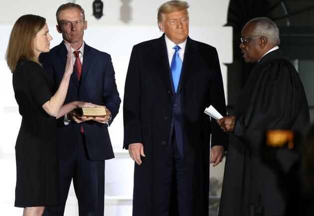 Seçim öncesi flaş gelişme: ABD Senatosu Trump'ın Yüksek Mahkeme adayı Barrett'ı onayladı