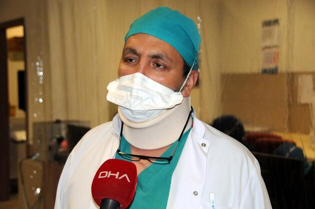 Pandemi ile mücadele eden doktor, koronavirüs hastası babasını kurtaramadı