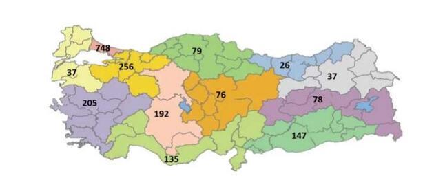 Sağlık Bakanlığı'nın son durum raporu... İşte bölge bölge vaka sayıları