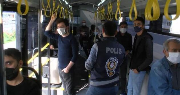 Toplu taşımada koronavirüs denetimleri sürüyor