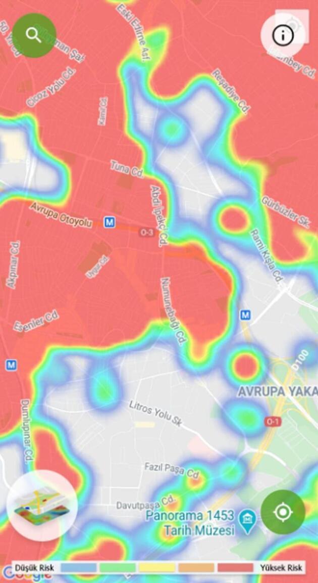 İşte koronavirüs salgınında İstanbul'un en güvenli ilçeleri