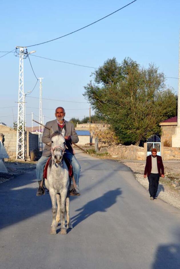 Ağrı'nın Mollakara köyünde 'altın' sevinci