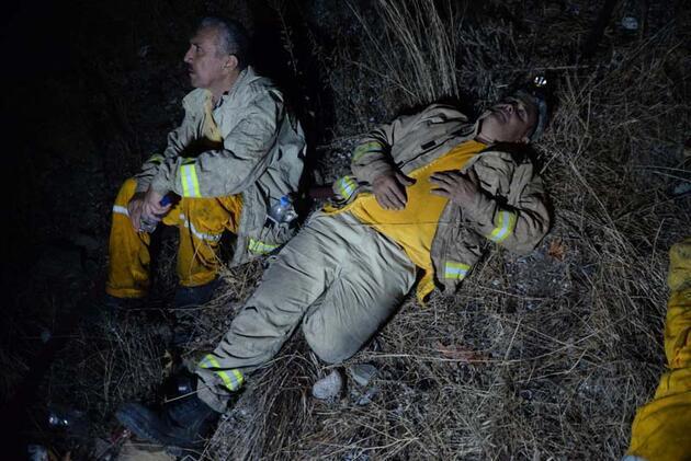 Anamur'daki orman yangınında 150 hektar alan zarar gördü