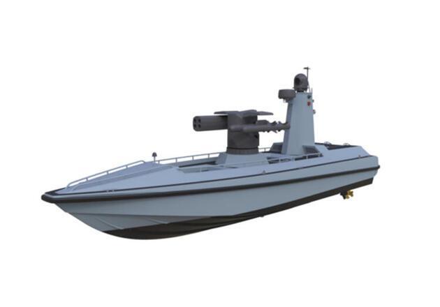 Türkiye'nin ilk silahlı insansız deniz aracı tanıtıldı