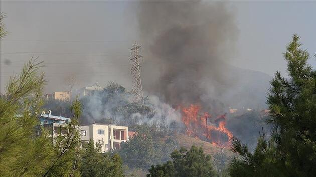 Hatay yangınında kundaklama iddiası