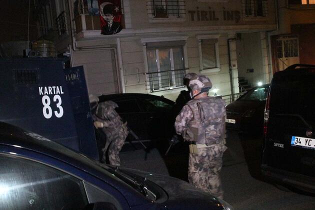 İstanbul'da DHKP-C operasyonu: Çok sayıda gözaltı var