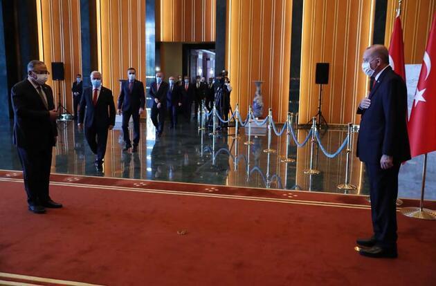 CumhurbaşkanıErdoğan, Cumhuriyet Bayramı tebriklerini kabul etti