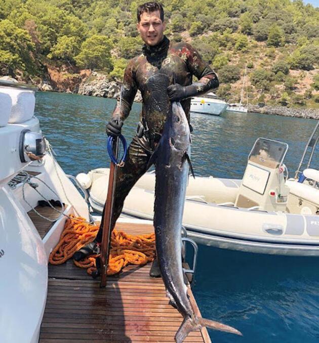 Kıvanç Tatlıtuğ ve Çağatay Ulusoy'un balık sevdası